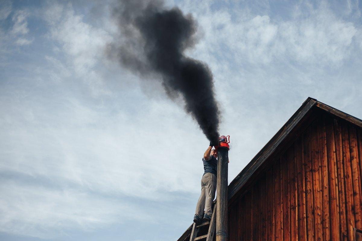 czyszczenie komina